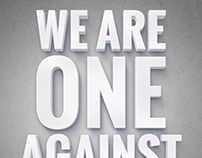 We Are One Against Addiction
