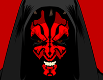 Illustration: Darth Maul