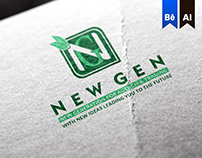 New Gen Creative Company Logo & Identity ®