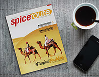 Spiceroute : Magazine Redesign