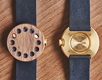 The Grovemade Gold Watch