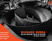 Richard Serra Exhibit – Book Design