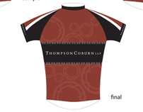 MS 150 Thompson Coburn Bike Jersey Selections
