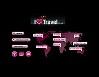 ILOVETRAVEL.CO.UK Travel Website Design and Branding
