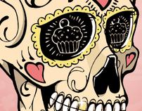 """""""Babe Ruthless Bakery"""" Branding"""