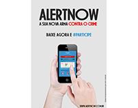 Criação de materiais digitais para o Projeto AlertNow