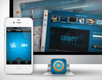 Vibop 2.0 UI & Branding