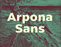 Arpona Sans Typeface
