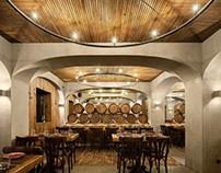 BARRIL restaurant by PAULO MERLINI architects