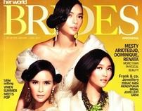 Her World BRIDES Indonesia -Januari 2012-