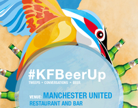 Kingfisher #KFBeerUp Creative