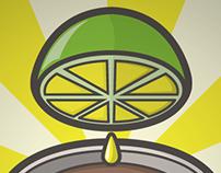 Café Ácido / Web Comics Logo proposals