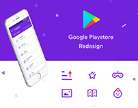 Google Playstore - Redesign