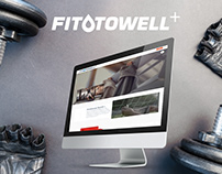FITTOWELL+ | Web Development from scratch