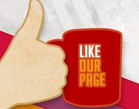 Cafe Coffee Day social creatives