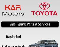 Toyota for Iraq Distributor