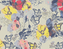 PATTERN DESIGN - BUTTERFLY