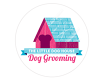The Little Dog House Dog Grooming : Corporate Identity