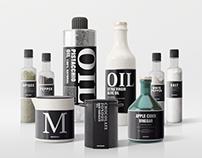 Seasonings Packaging Mock-Ups Vol.2