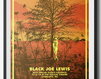 Black Joe Lewis Gigposter