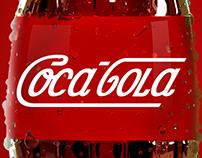 Coca-cola logo remix