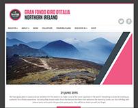 Gran Fondo Giro d'Italia NI Wordpress Site