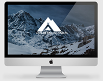 Apache Mountaineers - Logo and Screen Drafts