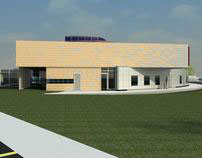 Little Rock Arkansas Art Magnet School (Revit)