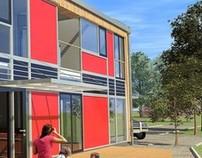 Projekt przebudowy budynku gospodarczego na dom