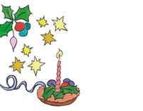 Tarjeta Navidad-Fin de Año / Christmas-New Year card