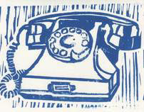 Retro Linocuts