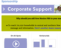 Sponsorship Page Template