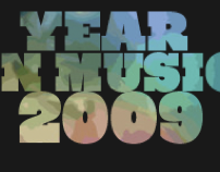 PITCHFORK YEAR IN MUSIC 2009