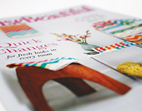 Typography II House Beautiful Magazine Design