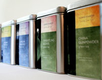 Good Earth Tea Packaging
