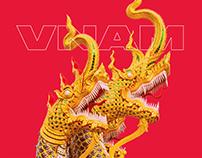 My Vietnam - UI design concept