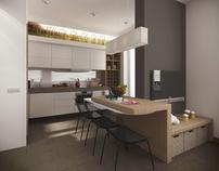 flat studio 45м²