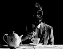 Gas Mask Tea Party