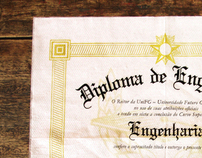 Veris University - Diploma Napkin
