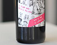 Diseño etiqueta vino