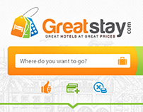 Concept of hotel booking portal