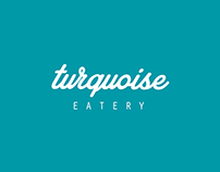 Turquoise Cafe Branding