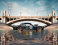 Ford Hoonicorn-La River.