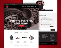 Web Design for Exhaust Company