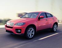 BMW X6 RENDERING