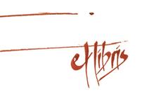 Ex libiris & postales tipográficas