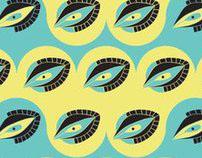 Bird eye patterns