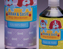 Sarah and Susie Dog Shampoo