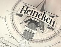 Heineken Letterheads