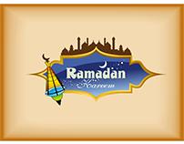vector hanging lamps ramadan kareem